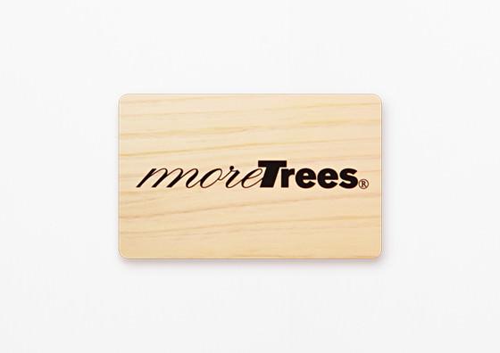 more treesカード