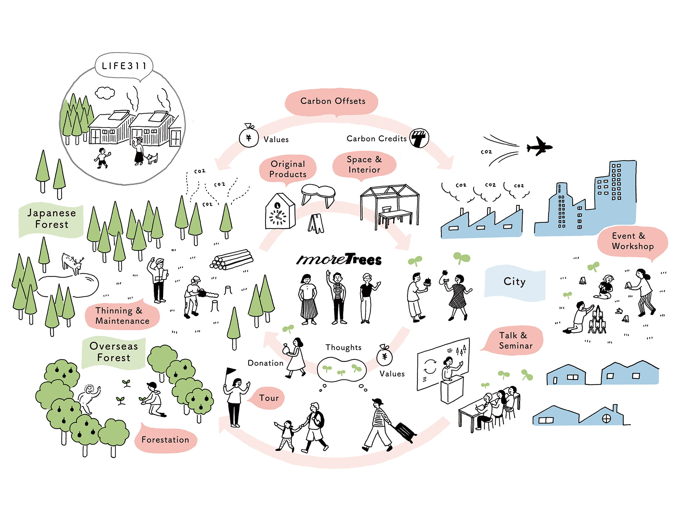 More Trees Activities:Connecting Cities & Forests