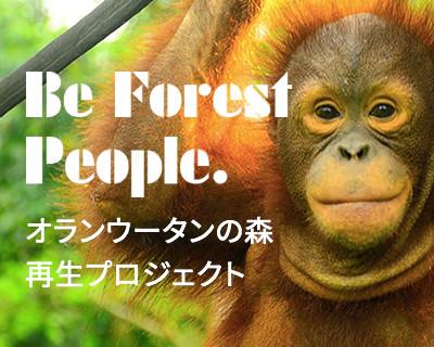 オランウータンの森 再生プロジェクト